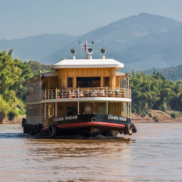 Pandaw The Laos Mekong Cruise