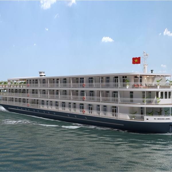 Mekong Jewel by Lotus Cruises