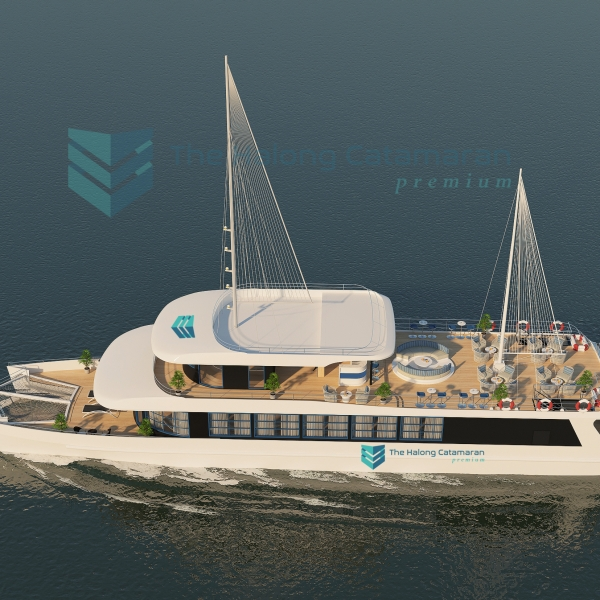 The Halong Catamaran Day Cruise