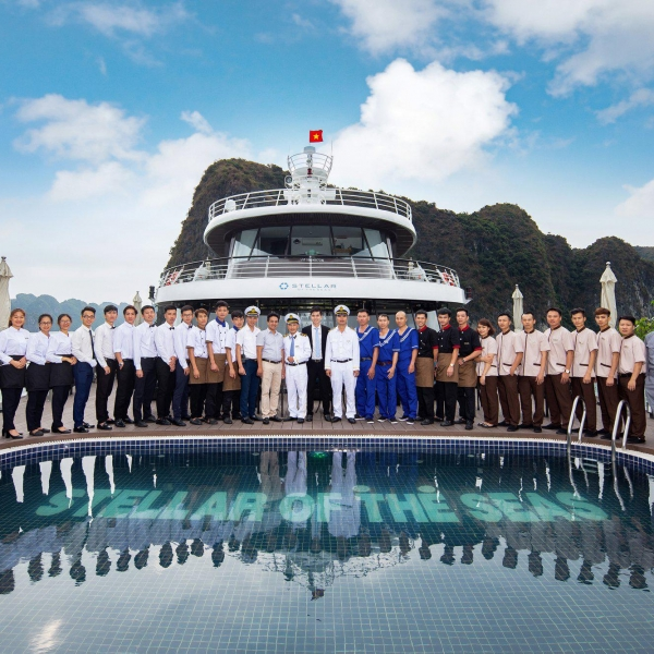 Stellar of the Seas, Halong Bay & Lan Ha Bay